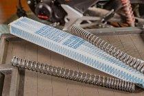 Wirth Fork spring kit progressive with homologation - Cagiva 650, 750 Elefant