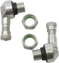 Ariete Tire valve-kit 90° 11,3mm silver