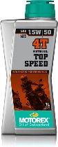 Motorex Engine oil Top Speed 4T 15W/50 1 liter