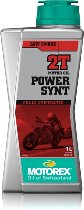 Motorex Engine oil Power Synt 2T, fully synthetic 1 liter