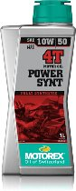 Motorex Engine oil Power Synt 4T, 10W/50 1 liter