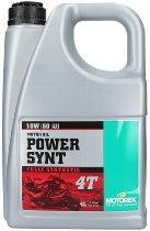 Motorex Engine oil Power Synt 4T, 10W/50 4 liters