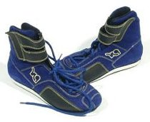 Kart Race-Boots blau Gr.38