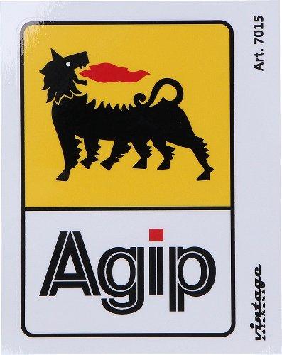 Sticker Agip, 7,5cm x 11cm