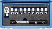 Drehmoment-Speichenschlüssel | austauschbare Köpfe | 3 - 15 Nm