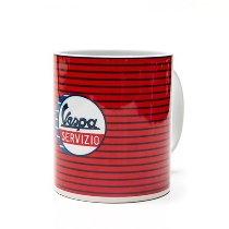 Vespa Cup Servizio, red with stripes