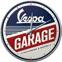 Vespa Wall clock garage, 31cm