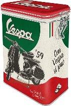 Vespa Aroma box ´the italian classic´ 7,5x11x17,5cm