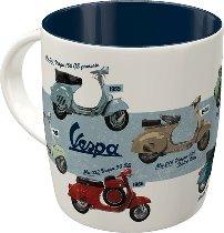 Vespa Cup ´model chart´ 8,5x8,5x9cm