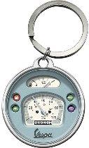 Vespa Key fob round, speedometer 4 x 4