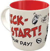 MOTOmania Tasse - Kick-Start Your Day!