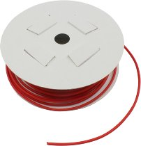 Shrinking hose 2,4mm red, sold by meter