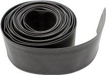 Shrinking hose 50,8mm, black, sold by meter