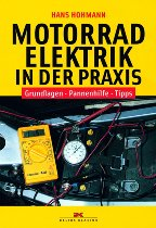 Book Motorcycle electronics in the praxis, 144 pages, german