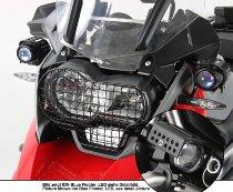 Hepco & Becker LED Flooter - Fog lights, Black - BMW R 1200 GS Adventure 2014->2018