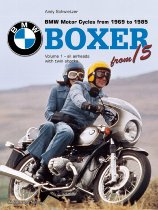 Buch BMW Boxer Volume 1, all airheads with twin shocks 1969 - 1985, author Andy Schwietzer