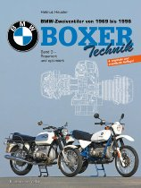 Buch BMW Boxer Volume 3, all airheads with twin shocks 1969 - 1996, author H. Heusler