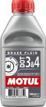 MOTUL Bremsflüssigkeit DOT 3 & 4, 500 ml