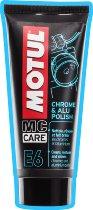 MOTUL E6: Chrome & Alu Polish, 100 ml