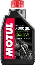 MOTUL aceite de horquilla Expert Light, 5w 1 litro