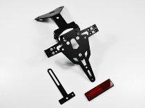 Zieger Licence plate holder Pro, black - Aprilia 1000 RSV 4, 125 Tuono, RS,...