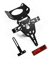 Zieger Licence plate holder Pro, black - Benelli TNT 1130 / 899