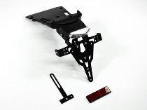 Zieger Licence plate holder Pro, black - BMW R nine T