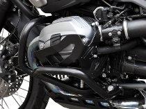 Zieger Cylinder protection, black - BMW R 1200 GS / R , R nine T