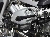 Zieger Cylinder protection, black - BMW R 1200 GS / R