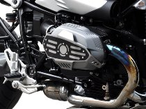 Zieger cylinder protection, silver/black - BMW R nine T, 1200 GS / R