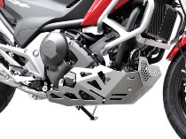 Zieger Engine guard, silver - Honda NC 700 S / X, 750 S / X / DCT