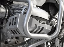 Zieger Cylinder protection, silver - BMW R 1100 GS