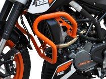 Zieger Crash bar, orange - KTM 125 / 200 Duke