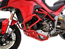 Zieger Crash bar, red - Ducati Multistrada 1200 / S