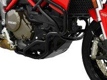 Zieger Engine guard, black - Ducati Multistrada 1200
