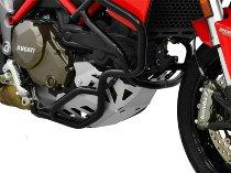 Zieger Engine guard, silver - Ducati Multistrada 1200
