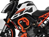Zieger Crash bar, orange - KTM 125 Duke