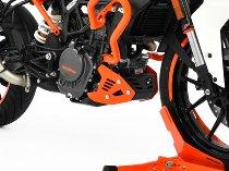 Zieger Engine guard, black/orange - KTM 125 Duke