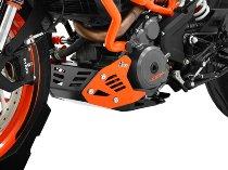 Zieger Engine guard, black/orange - KTM 390 Duke