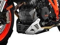 Zieger Engine guard, black/silver - KTM 1290 Superduke R / GT