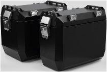 Zieger Aluminium Suitecase 50L, black