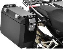 Zieger Aluminium Suitecase 39L, black