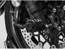 Zieger crashpads front axle, black - Honda CB 650 R,CBR 650 R