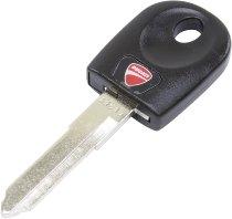 Ducati Key with transponder black - 848, 1098, 1198, 796, 1100 Hypermotard