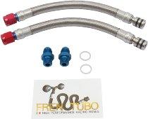 Fren Tubo oil cooler plumbings set, type 2 - Ducati 1098 R