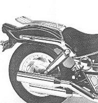 Hepco & Becker Solorack without backrest, Chrome - Suzuki VZ 800 Marauder (1996->2003)