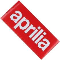 Aprilia Sticker, red, 60 x 130 mm