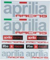 Aprilia Sticker kit, 8-parts, 20 x 24cm