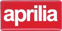 Aprilia Sticker, 3D, 35 x 19mm