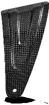 Akrapovic Silencer holder (carbon) - Aprilia RSV4 / Tuono V4